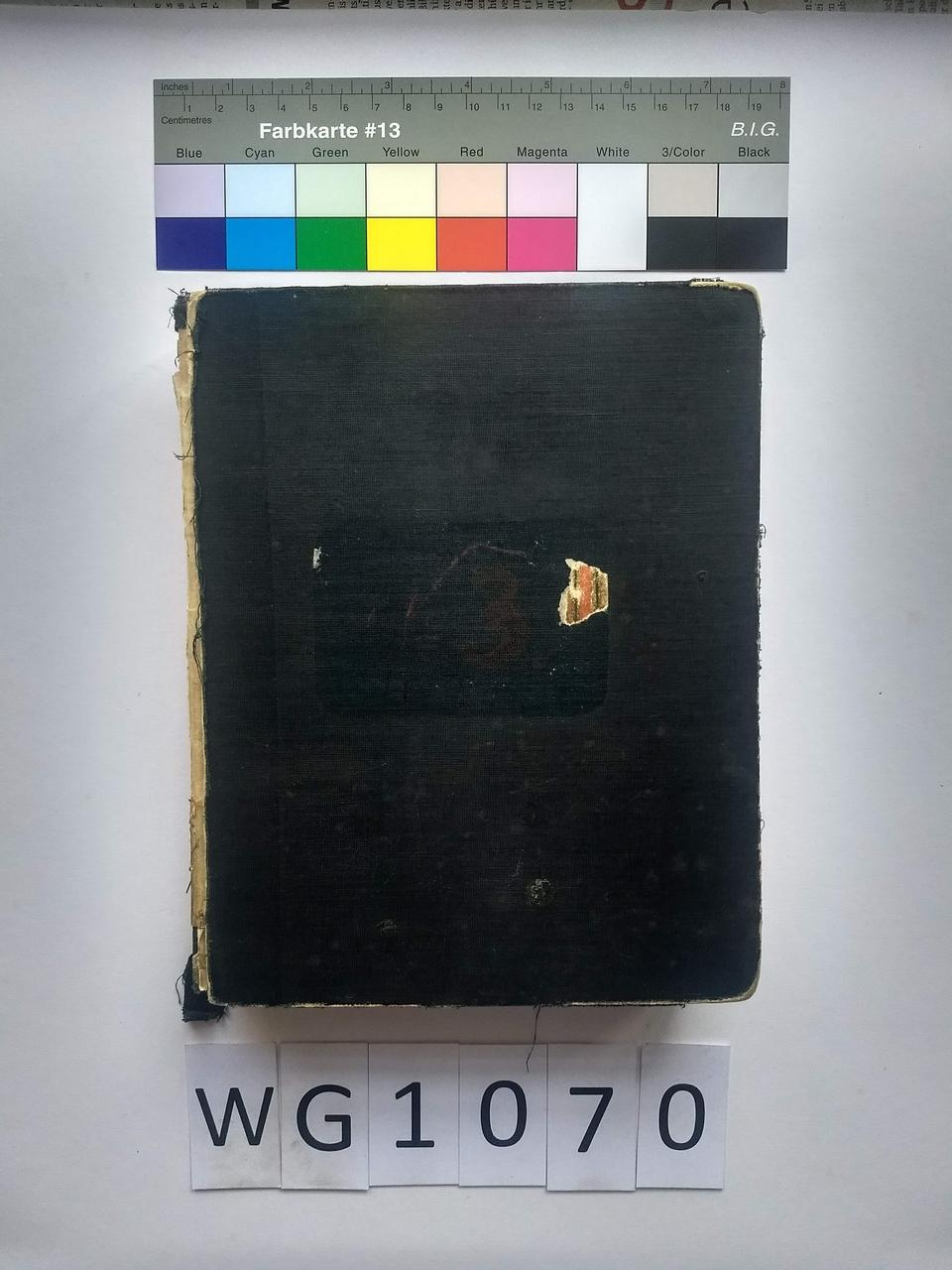 Auftragsbuch