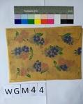 Musterabdruck Blumen mit Stängel
