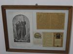 Collage aus Grafiken und Schriften zu Clemens Maria Hofbauer