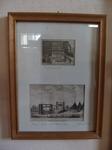 """Grafik """"Pulvermühle"""" / """"Hanf-Mühle mit Pferde-Antrieb"""""""