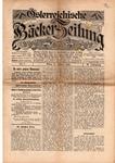 Österreichische Bäcker-Zeitung, Jg. 4 / Nr. 5