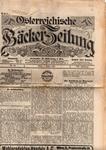 Österreichische Bäcker-Zeitung, Jg. 21 / Nr. 32
