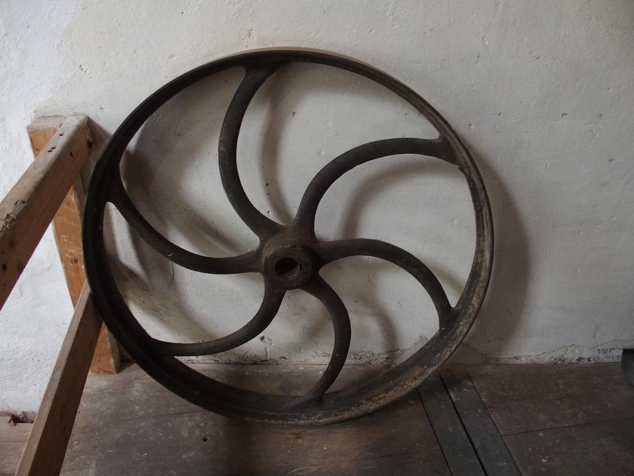 Maschinenrad