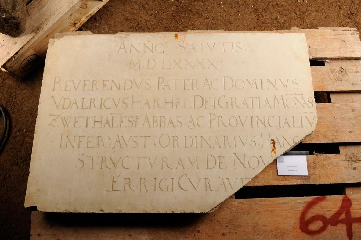Inschriftplatte