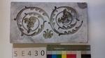 Negativform Detail 2 Akanthusvoluten mit Weintrauben