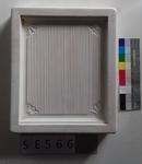 Negativform ledige Kachel Rillenmuster mit Fächern