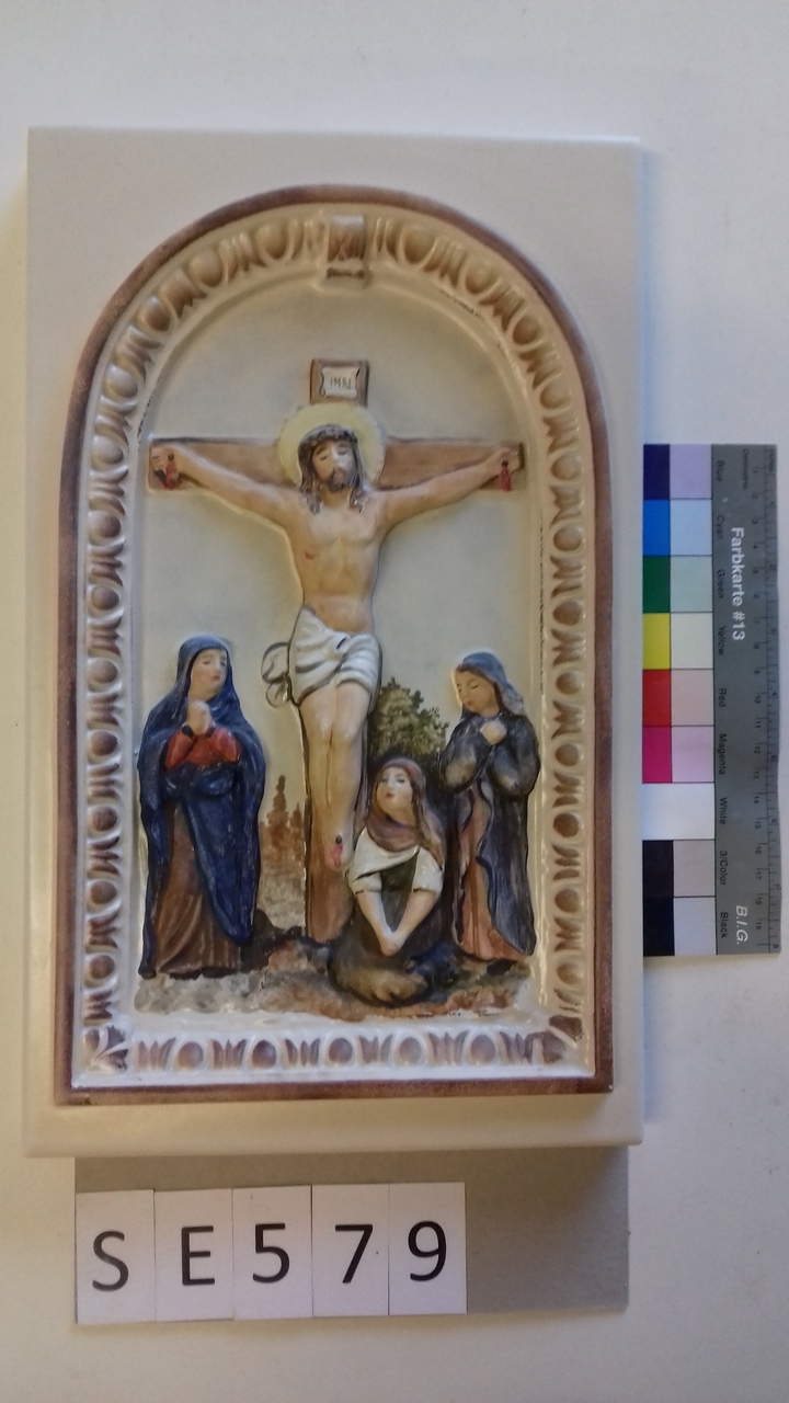 Kachel ledige Kachel Jesus am Kreuz