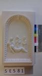 Kachel ledige Kachel Pieta mit 2 Frauen