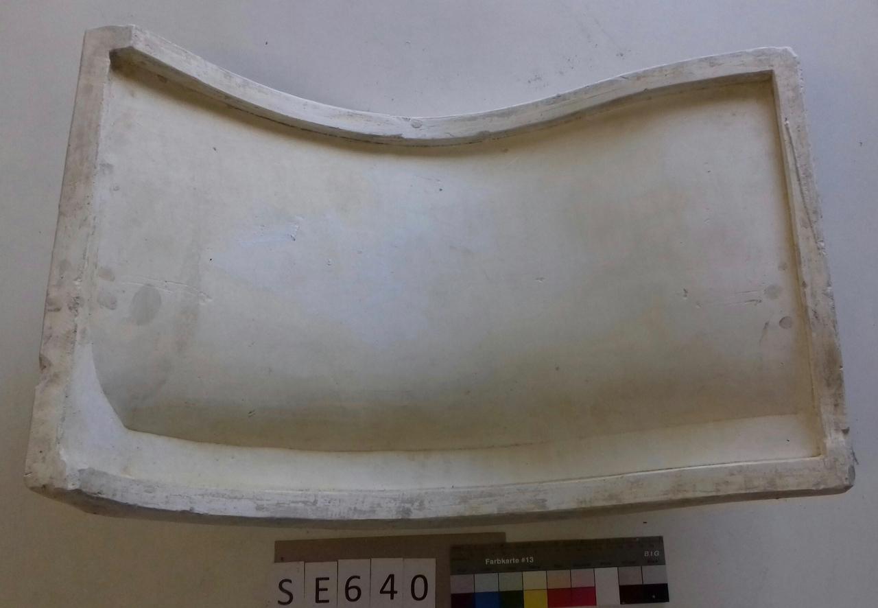 Negativform Seitenteil Barockofen
