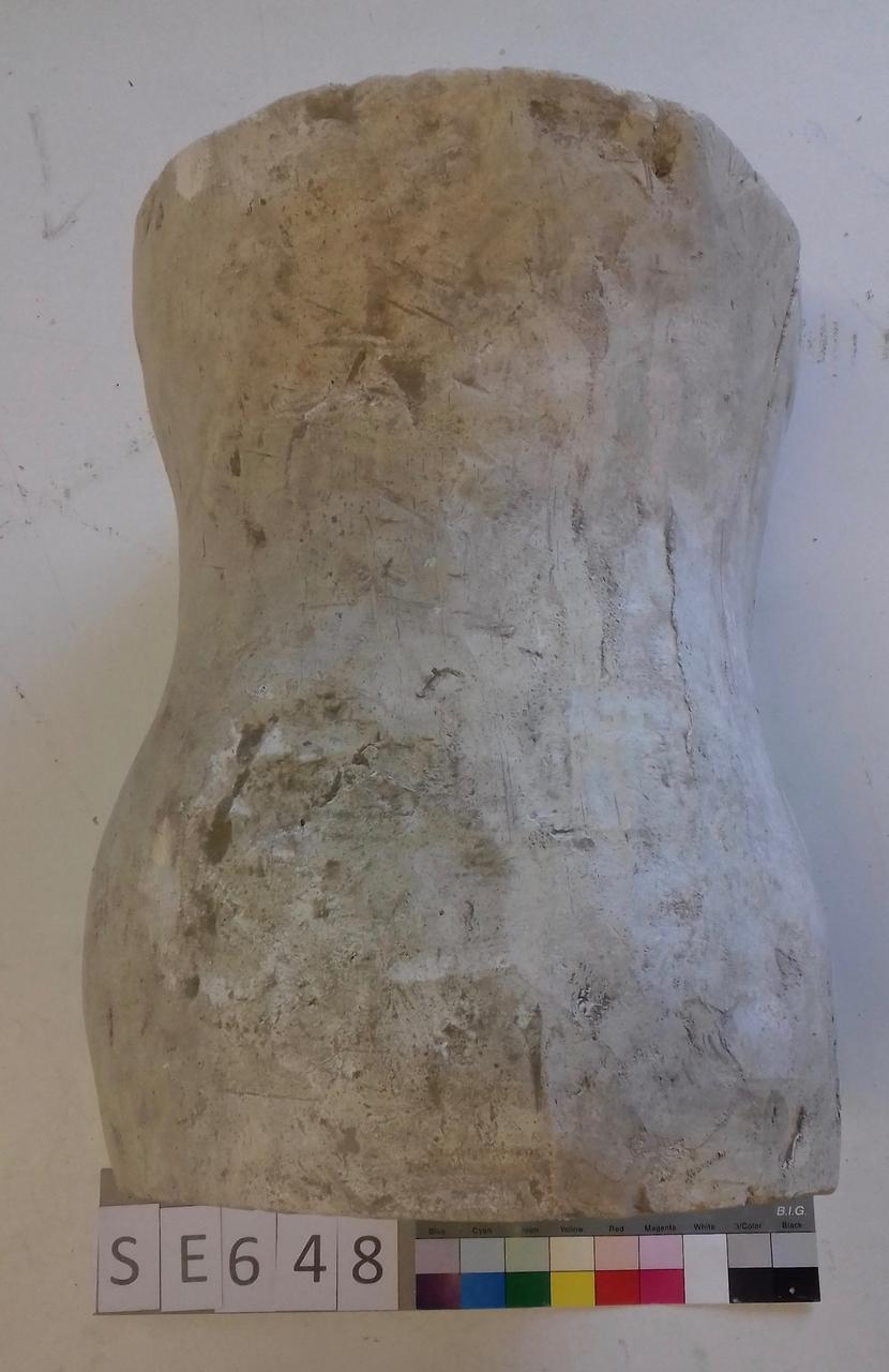 Negativform Ofenaufsatz Vase mit floraler Musterung
