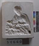 Negativform Hl. Maria mit liegendem Jesuskind