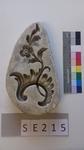 Negativform Detail Rocaille mit Blume
