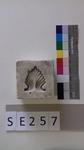 Negativform Detail mit Akanthusblatt