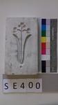 Negativform Detail mit Blumenmotiv