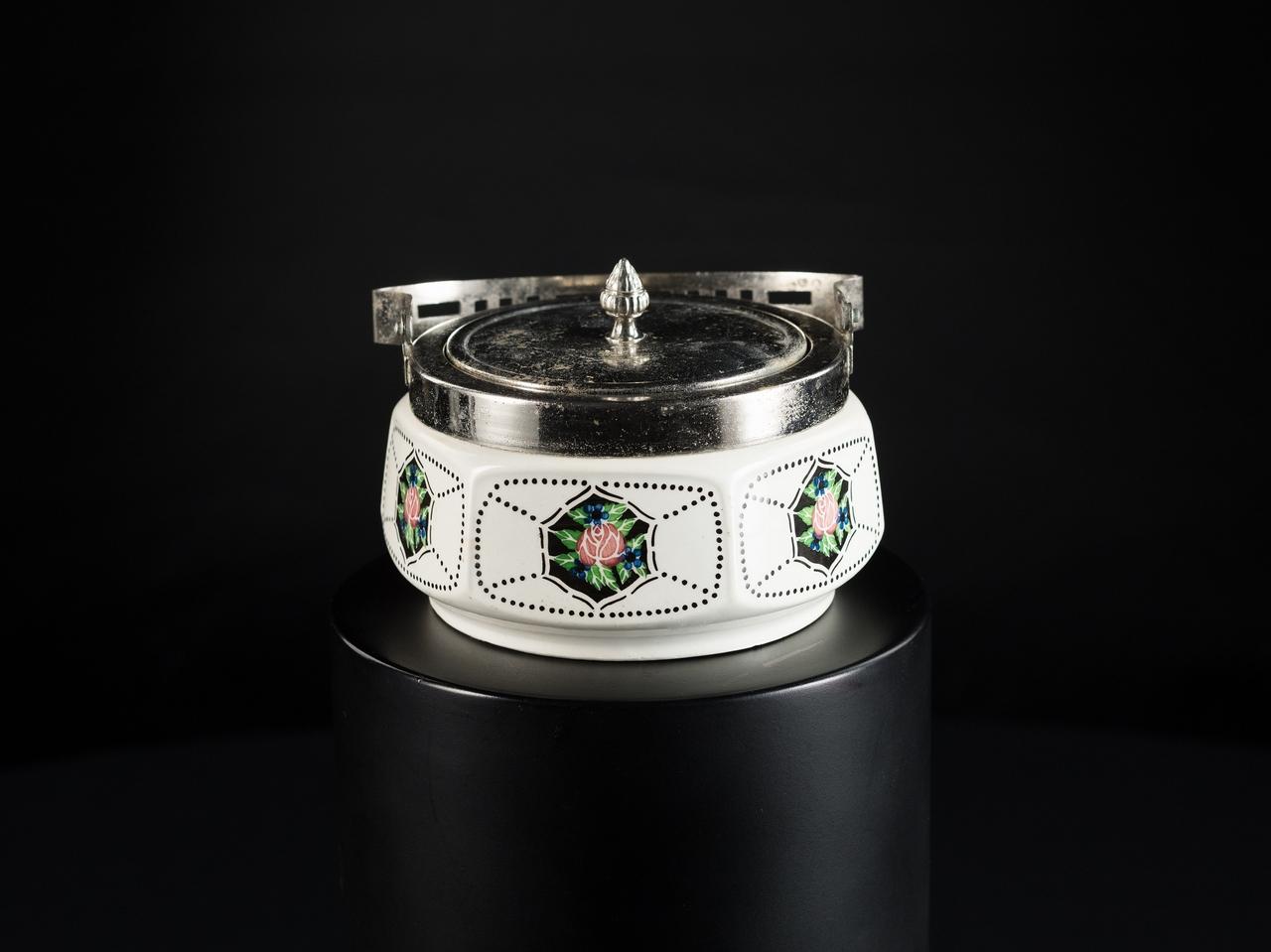 Cukornička porcelánová - Zuckerdoese Porzellan