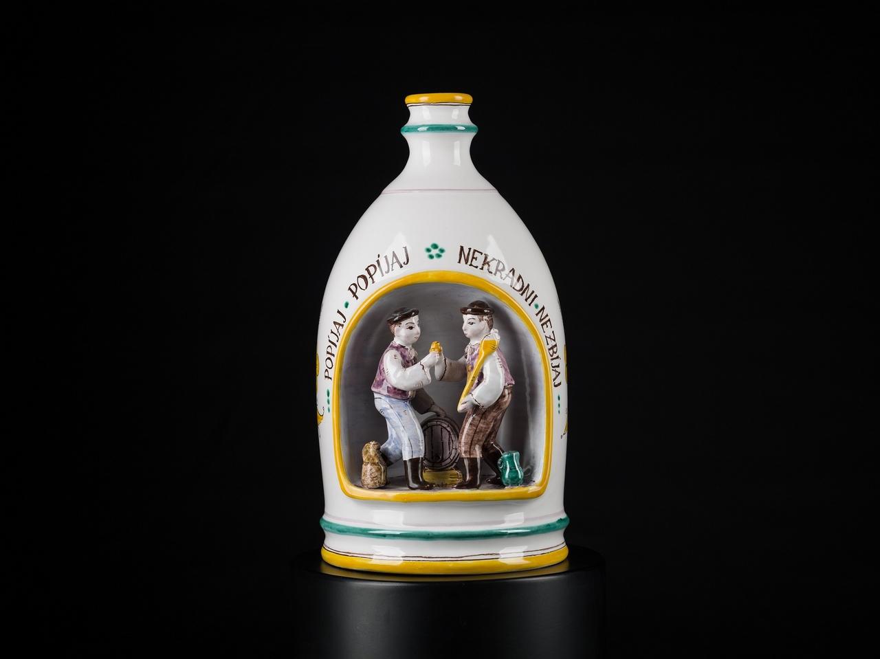 Keramická fľaša - Keramikflasche